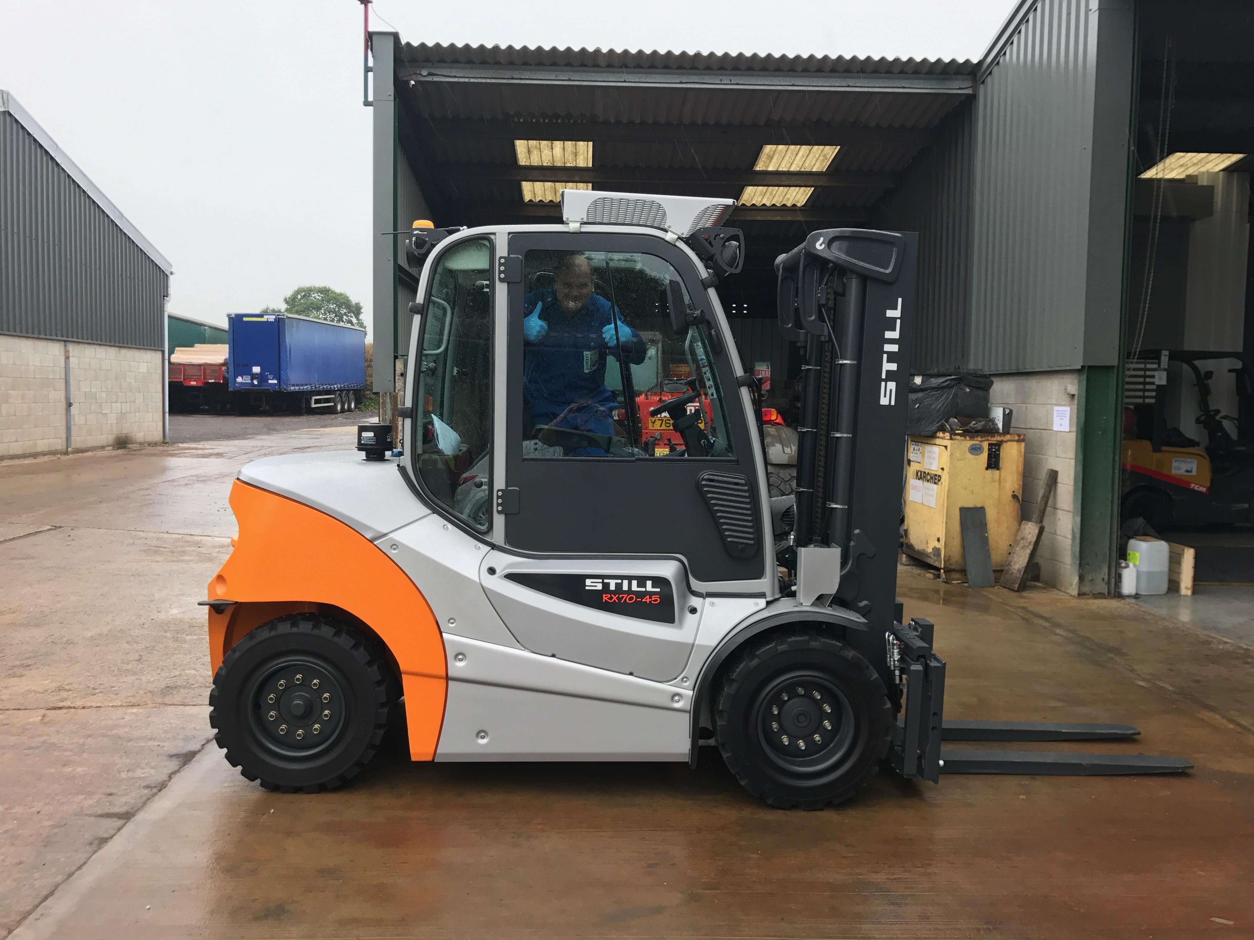 New lift trucks